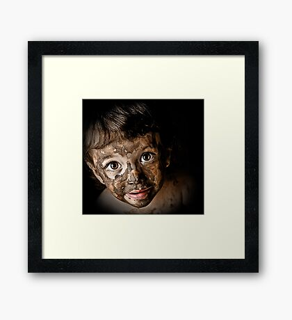Angels With Dirty Faces Framed Print