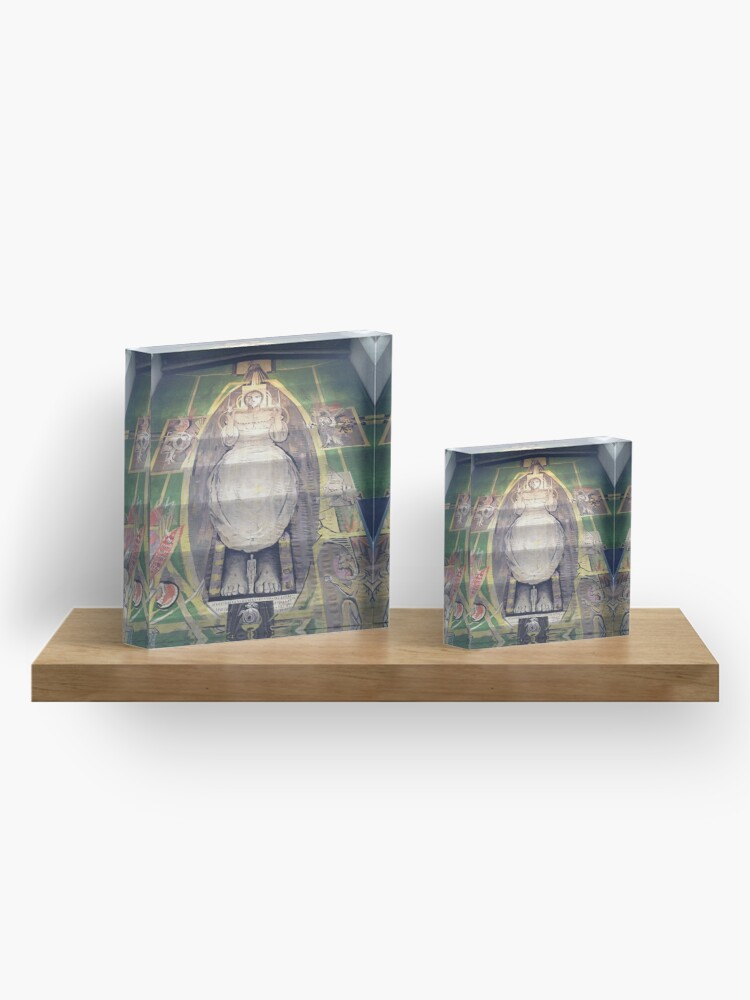 Alternate view of Sutherland tapestry, Coventry Cathedral Acrylic Block