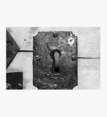 Through the keyhole Photographic Print