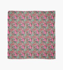 decorative cut paper collage floral pattern Scarf