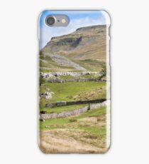 Ingleborough in the Yorkshire Dales iPhone Case/Skin