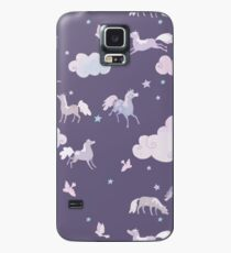 purple dreamponies Case/Skin for Samsung Galaxy