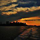 City Skyline Silhouettes by LudaNayvelt