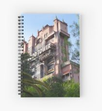 Hollywood Tower Hotel Spiral Notebook