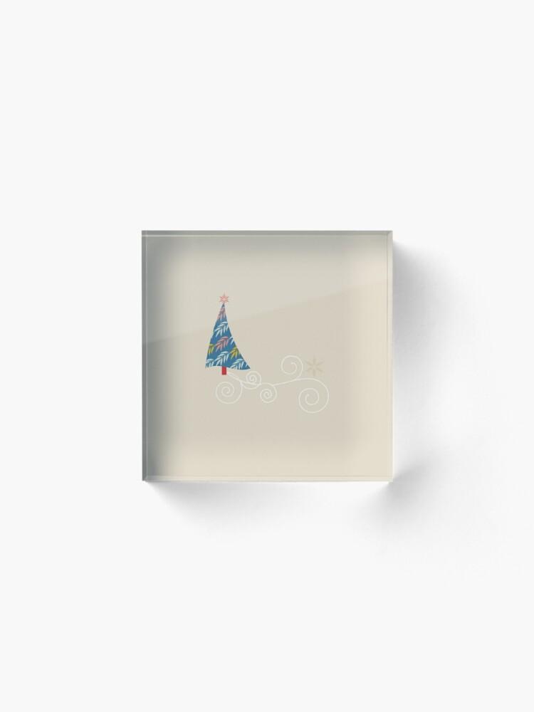 Alternate view of Happy Holidays! Acrylic Block