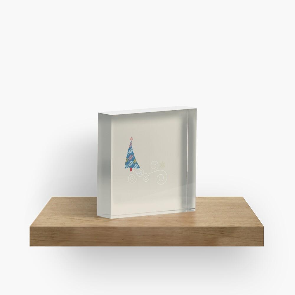 Happy Holidays! Acrylic Block