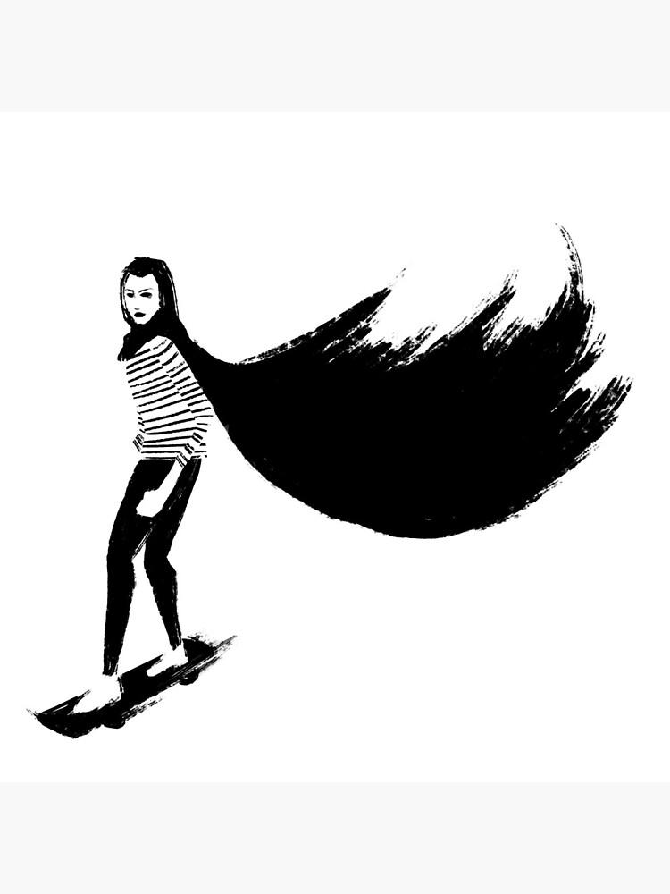 A Girl Walks Home Alone At Night by ruhefuchs