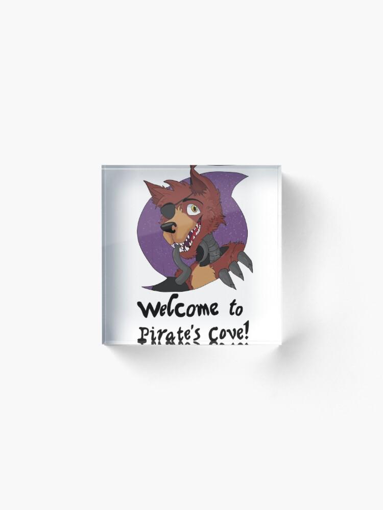 Alternative Ansicht von Foxy - Piratenbucht Acrylblock