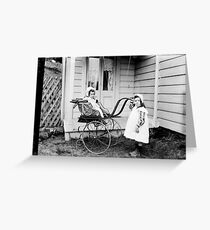 Three weeks ago I was lucky to be able to purchase some plate glass negatives but it wasnt until Greeting Card