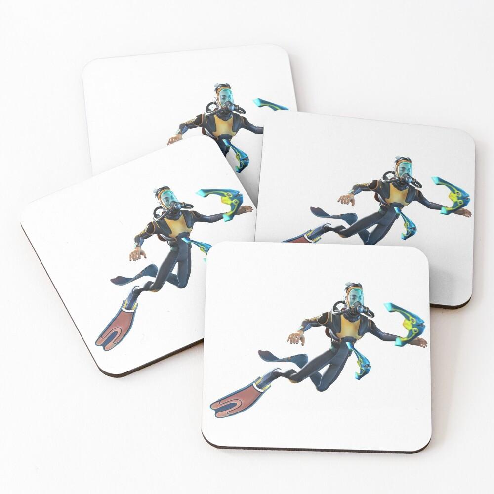 Diver Coasters (Set of 4)