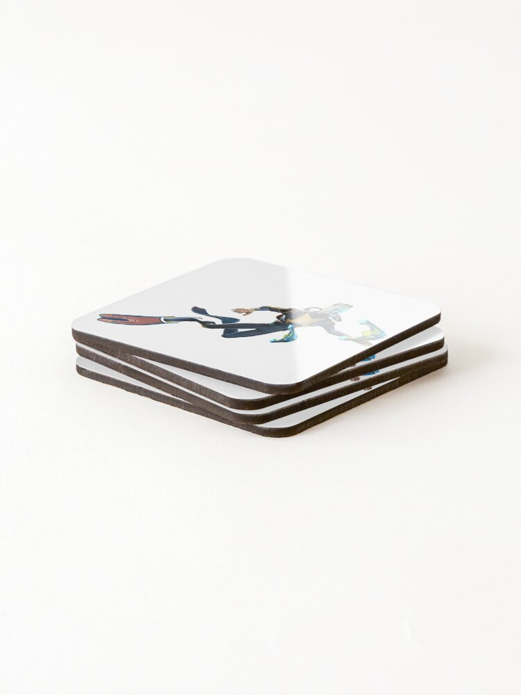 Alternate view of Diver Coasters (Set of 4)