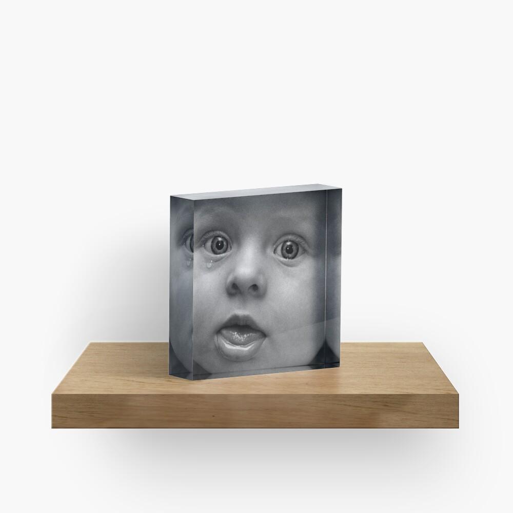 Tear Acrylic Block