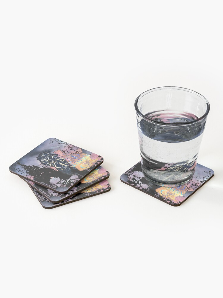 Alternate view of For Beauty is Found Within Coasters (Set of 4)