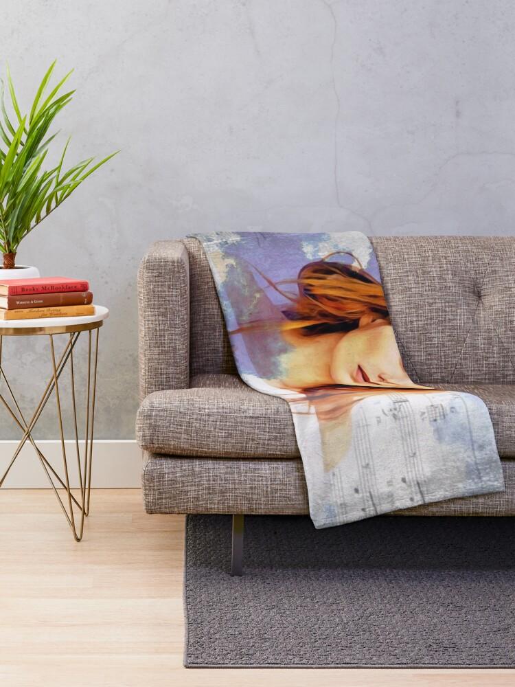 Alternate view of Tori Amos Scarlet's Walk Your Cloud Throw Blanket