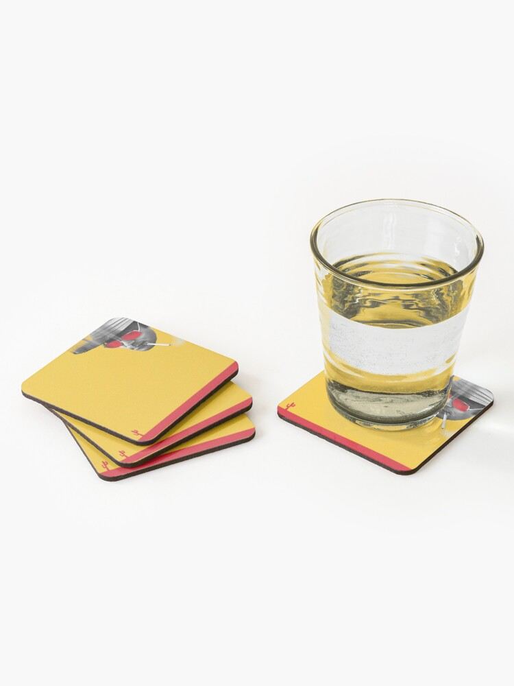 Alternate view of Hunter S. Thompson Coasters (Set of 4)