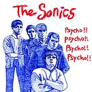 The Sonics :: Psyco !!! by iwantajuicer