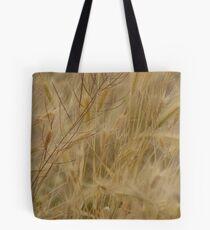 Windblown Cattails Tote Bag