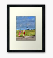Yankee Girl 2 Framed Print