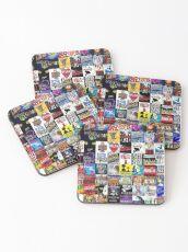 Musicals Collage leggings Coasters