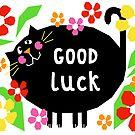 Lucky Black Cat by Adam Regester