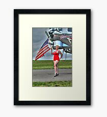 Yankee Girl 3 Framed Print