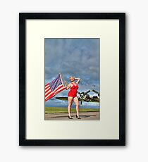 Yankee Girl 4 Framed Print