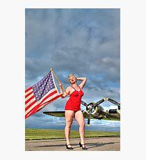 Yankee Girl 4 Photographic Print