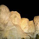 MOUNT RUSHMORE ILLUMINATED by FSULADY