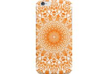 Tribal Mandala Orange auf Redbubble von pASob-dESIGN