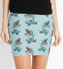 Totodile Low Poly Mini Skirt