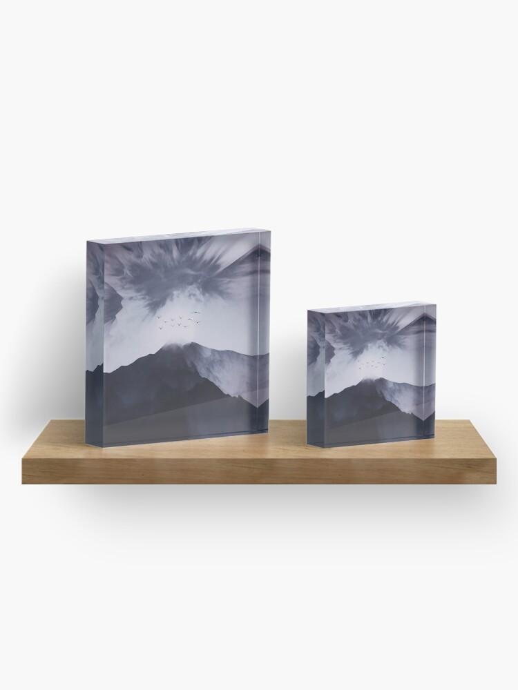 Alternate view of Peak Acrylic Block