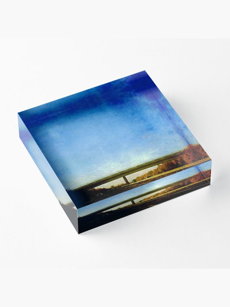 Alternate view of The Bridge Acrylic Block