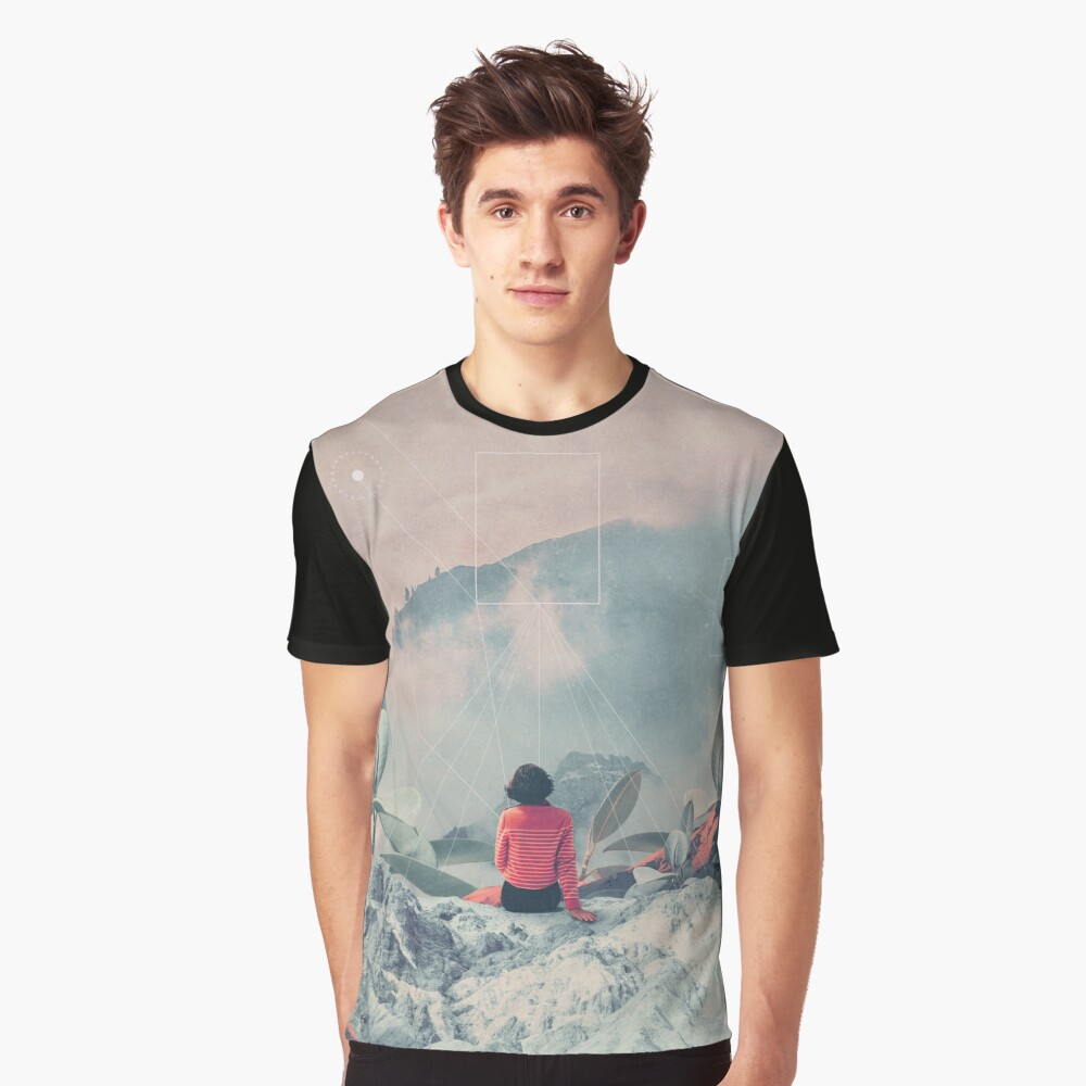 Lost in the 17th Dimension Graphic T-Shirt