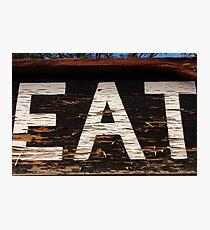 EAT at NEATH Photographic Print