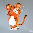 Cute Tiger Cub by Stayf