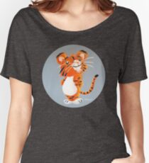 Cute Tiger Cub Relaxed Fit T-Shirt