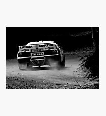 Kicking up the Dust Photographic Print