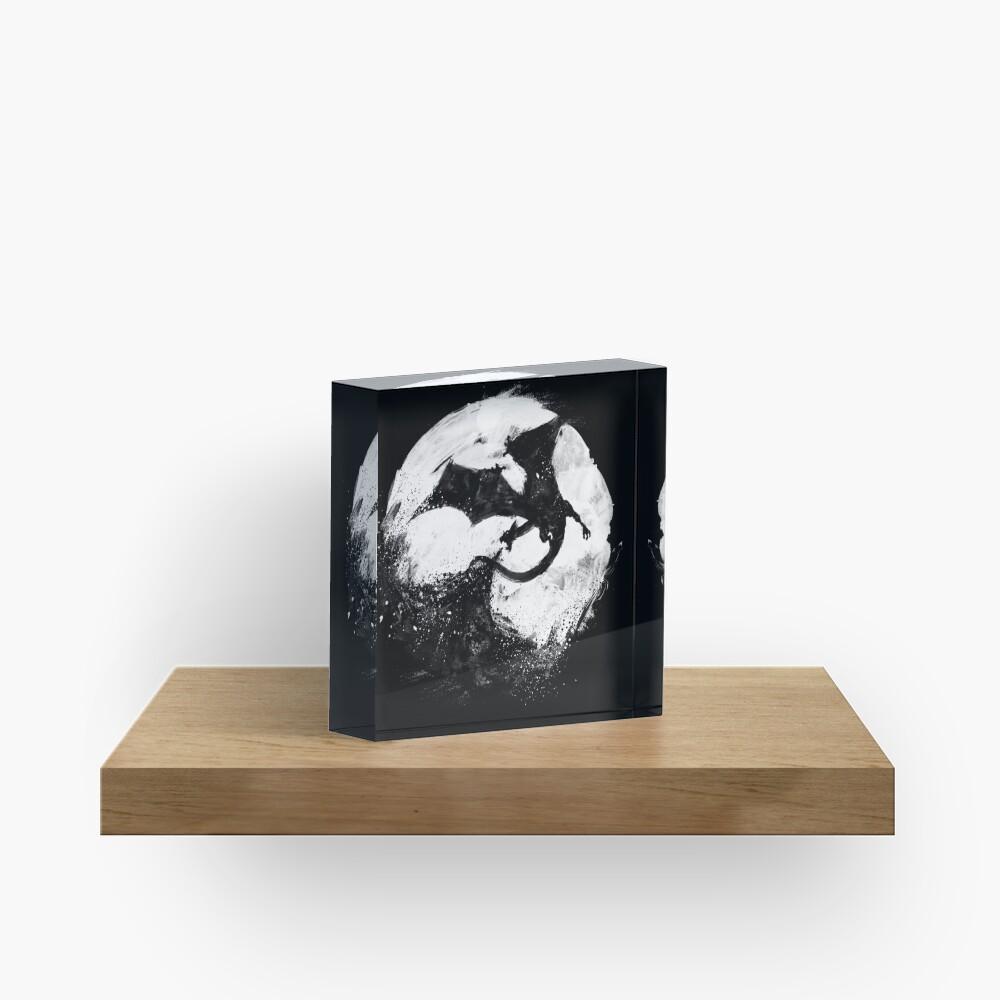 Midnight Desolation Acrylic Block