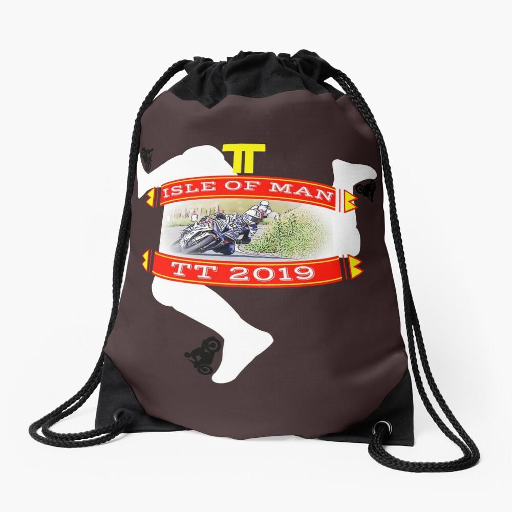 TT Isle of Man Drawstring Bag