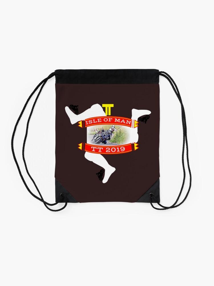 Alternate view of TT Isle of Man Drawstring Bag