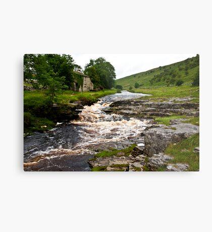River Cottage  (River Wharfe) Metal Print