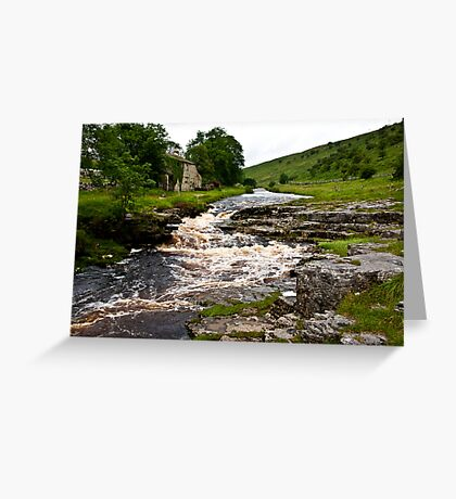 River Cottage  (River Wharfe) Greeting Card