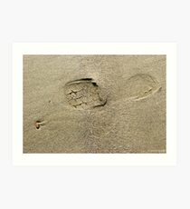 Mavillette Footprint Art Print