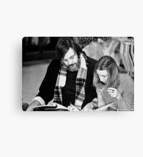 Script Review Canvas Print