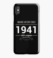 Making historia since 1941 iPhone Case