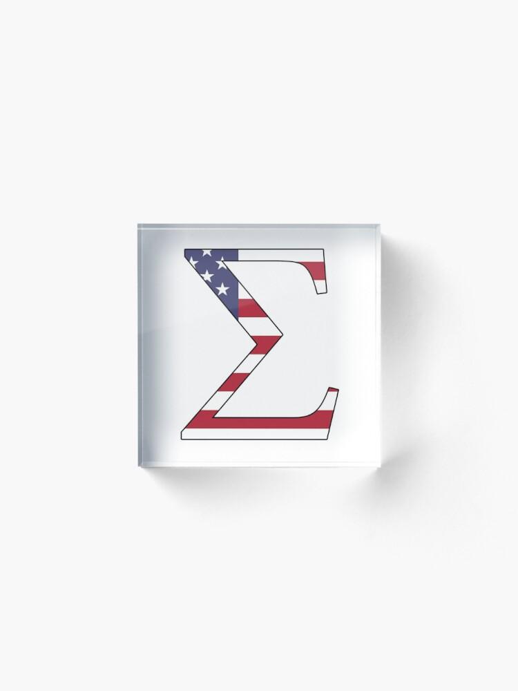 Alternative Ansicht von Sigma Amerikaner Acrylblock