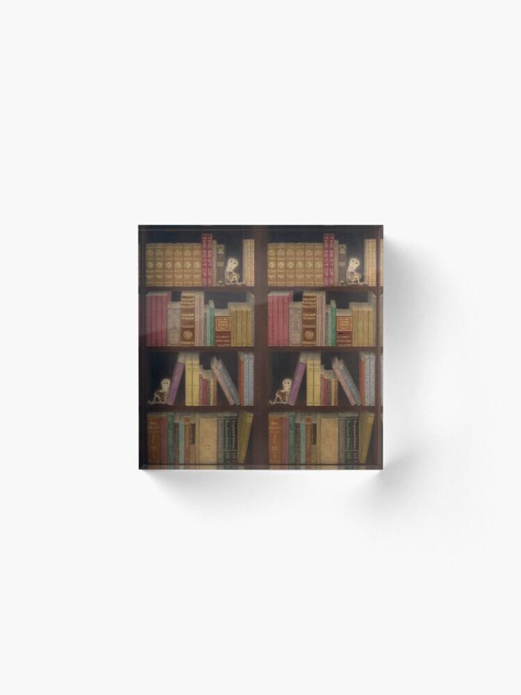 Vista alternativa de Bloque acrílico Librería Cojines y bolsos