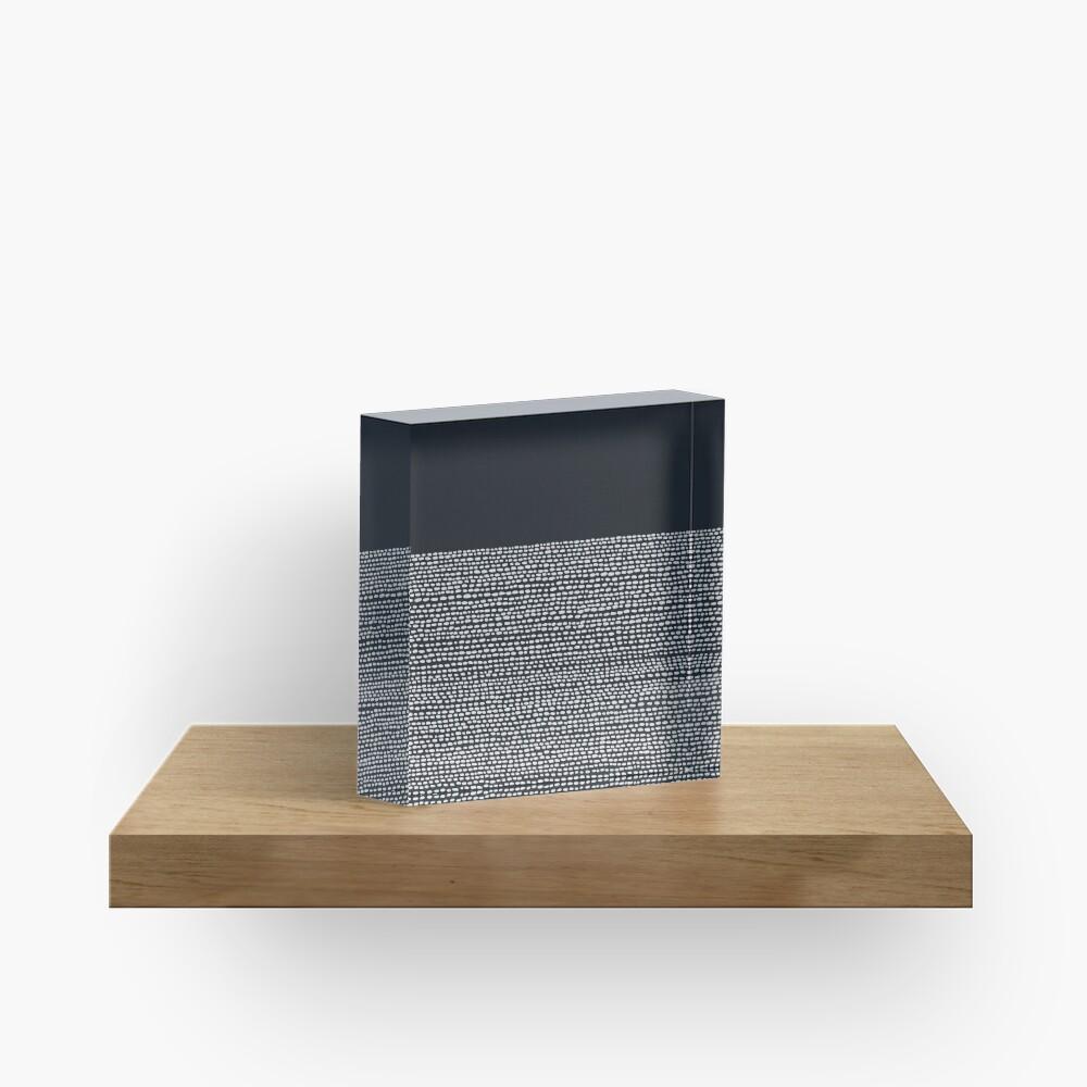 Riverside Black Acrylic Block