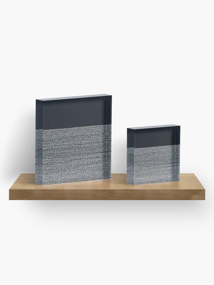 Alternate view of Riverside Black Acrylic Block