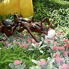"""Prehistoric"" Ant in the Garden of Eden by JoyceIone"